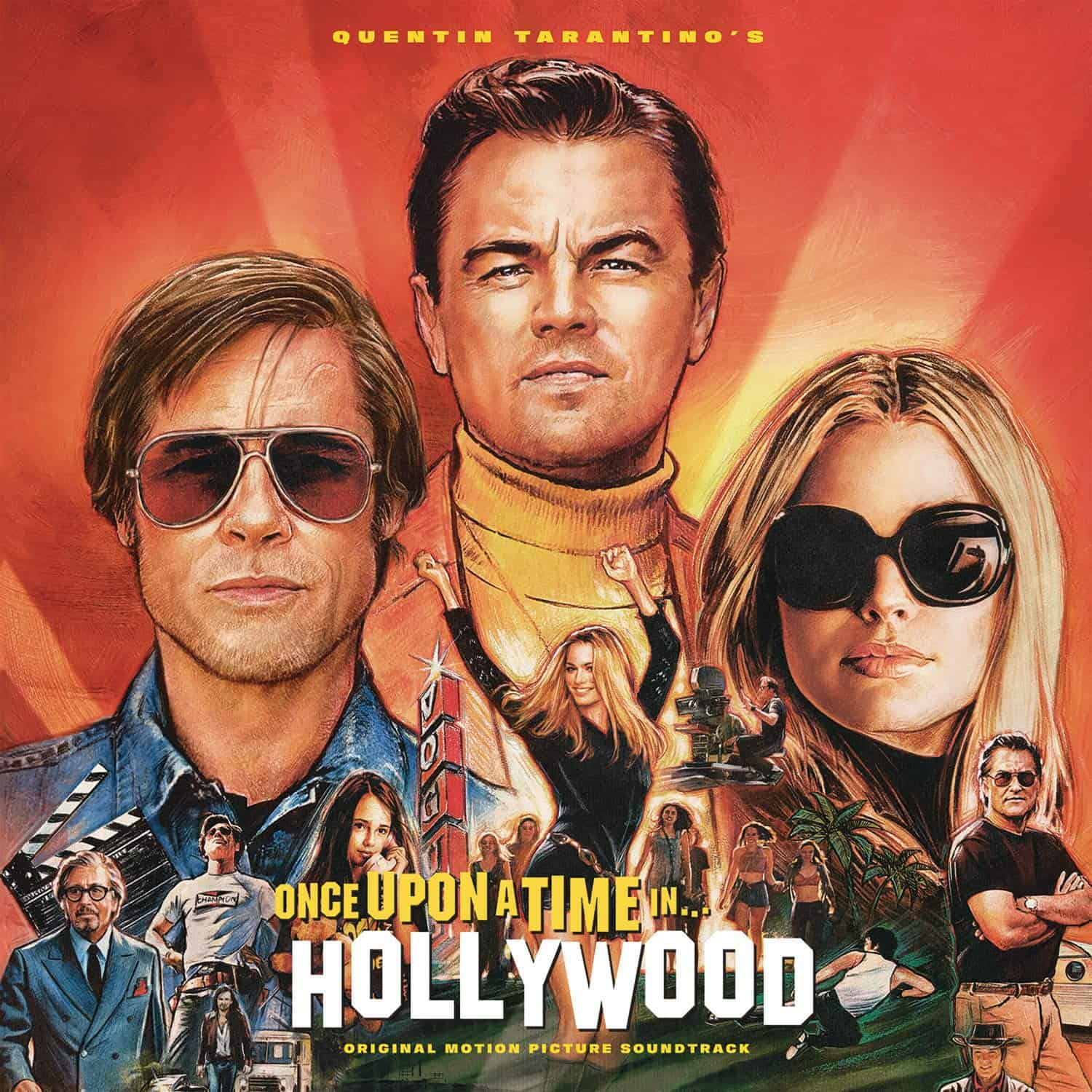 "Quentin Tarantino's ""Once Upon a Time in Hollywood"" Original Motion Picture Soundtrack im Stream"