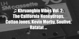 Khruangbin Vibes Vol. 2: The California Honeydrops, Cotton Jones, Kevin Morby, Soulive, Ratatat ...