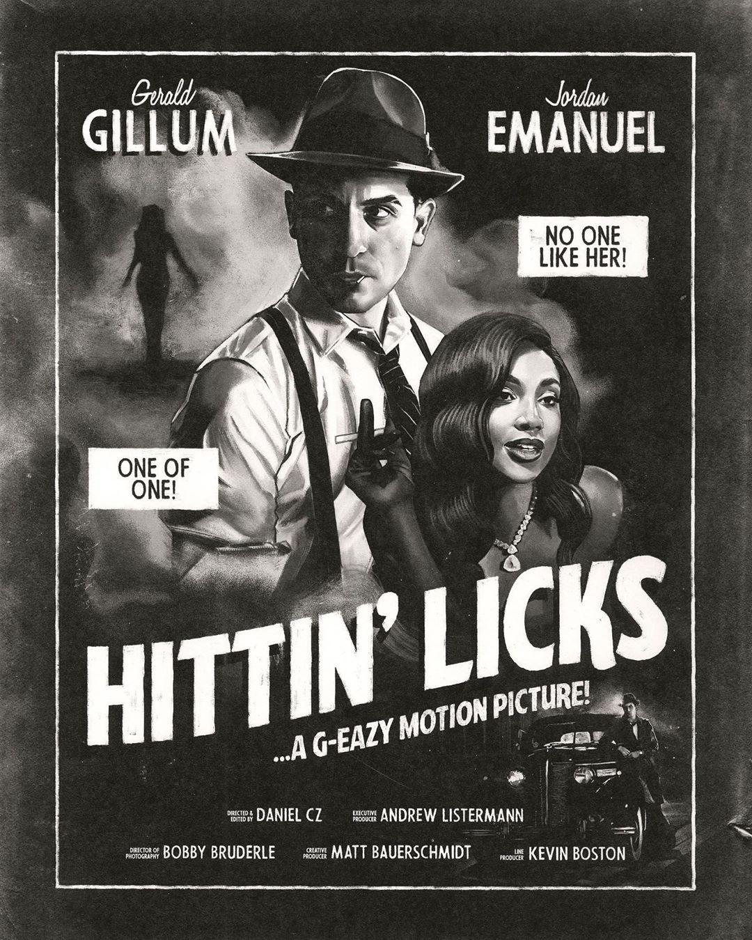 Videopremiere: G-Eazy - Hittin Licks