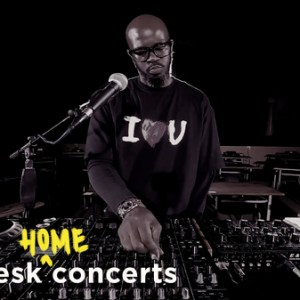 Black Coffee: Tiny Desk (Home) Concert (Video)