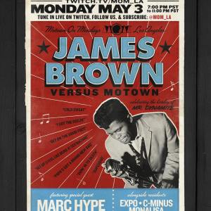 James Brown 45s Tribute Set at Motown on Monday Los Angeles by Marc Hype
