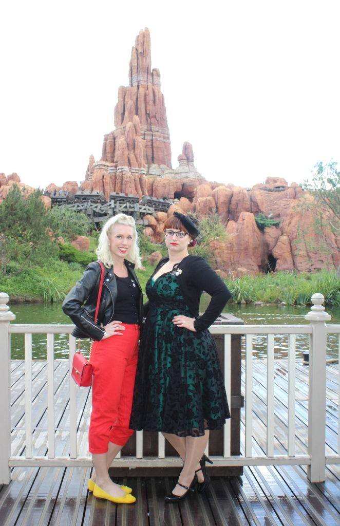 Pin-up et Soulier vert, Disneyland Dapper Day-Fall 2017_souliervertblog