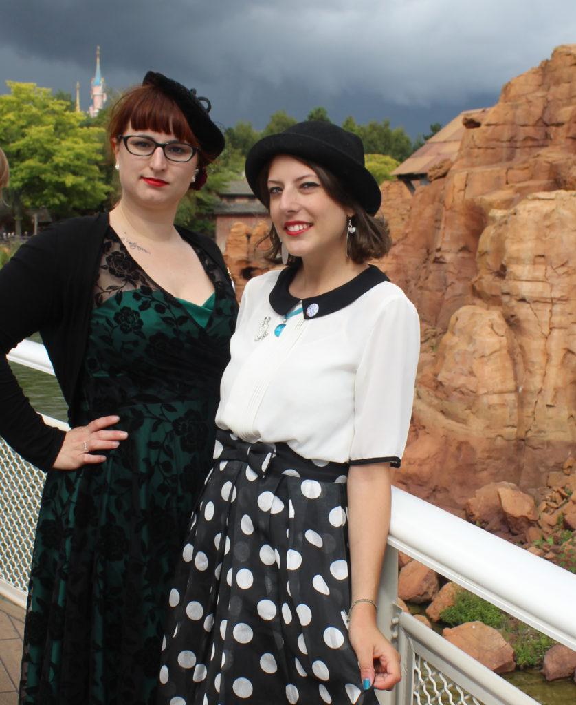 Soulier Vert et Mlle Arole, Disneyland Dapper Day-Fall 2017_souliervertblog