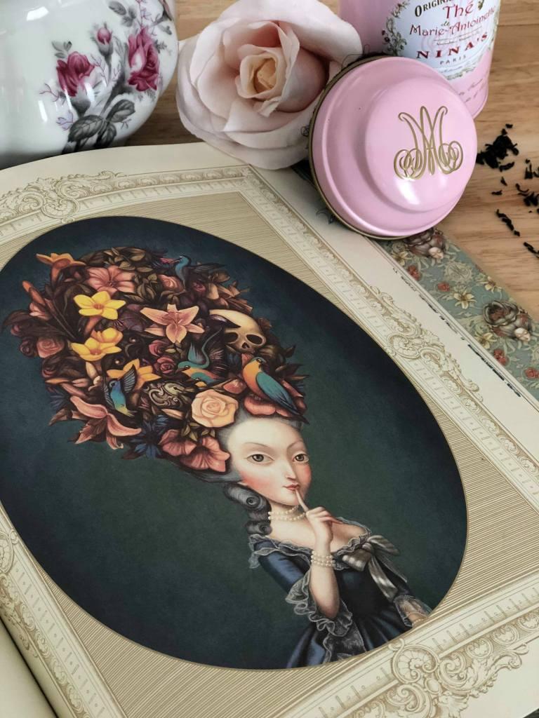 Marie-Antoinette de Benjamin Lacombe_soulier vert blog