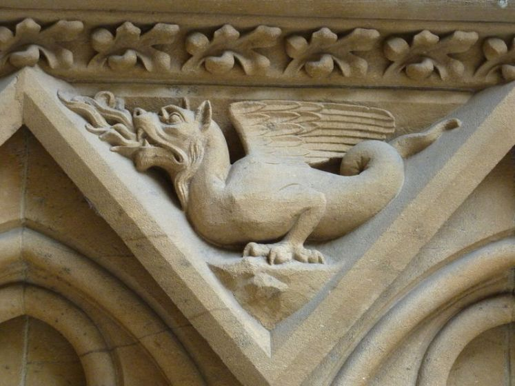 Graoully cathédrale Metz_souliervert.com