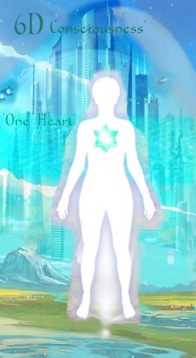Ascension of Love Consciousness to One Heart--6D Consciousness