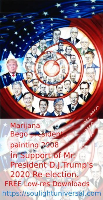 #Bego #Art in Support to #President #Trump's #Re-election 2020