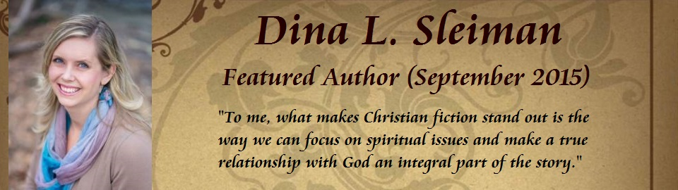 Featured Author: Dina L. Sleiman
