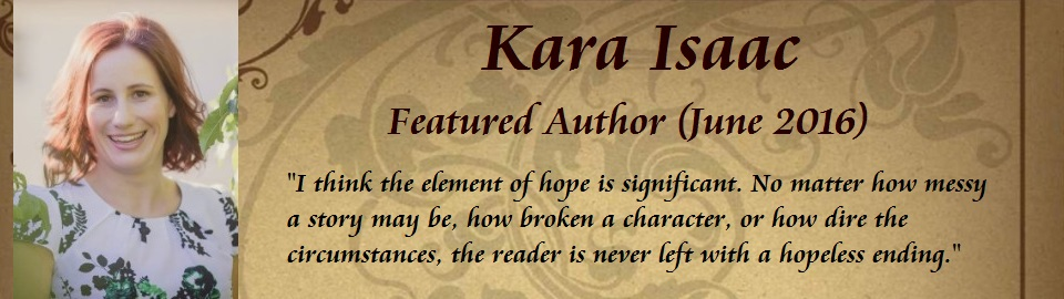 Featured Author: Kara Isaac