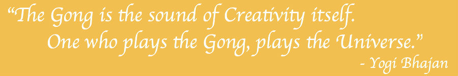 Gong Baths quote