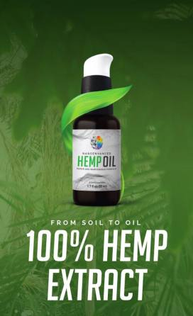 CBD Oil from 100% hemp extract
