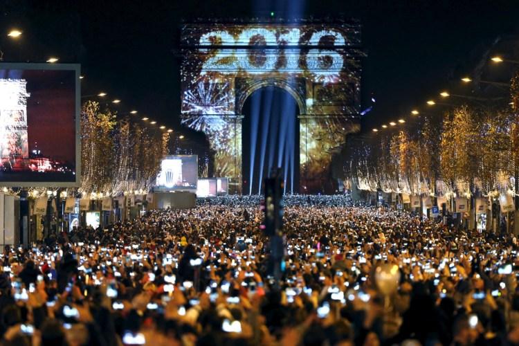 Ano Novo Champs Elysee