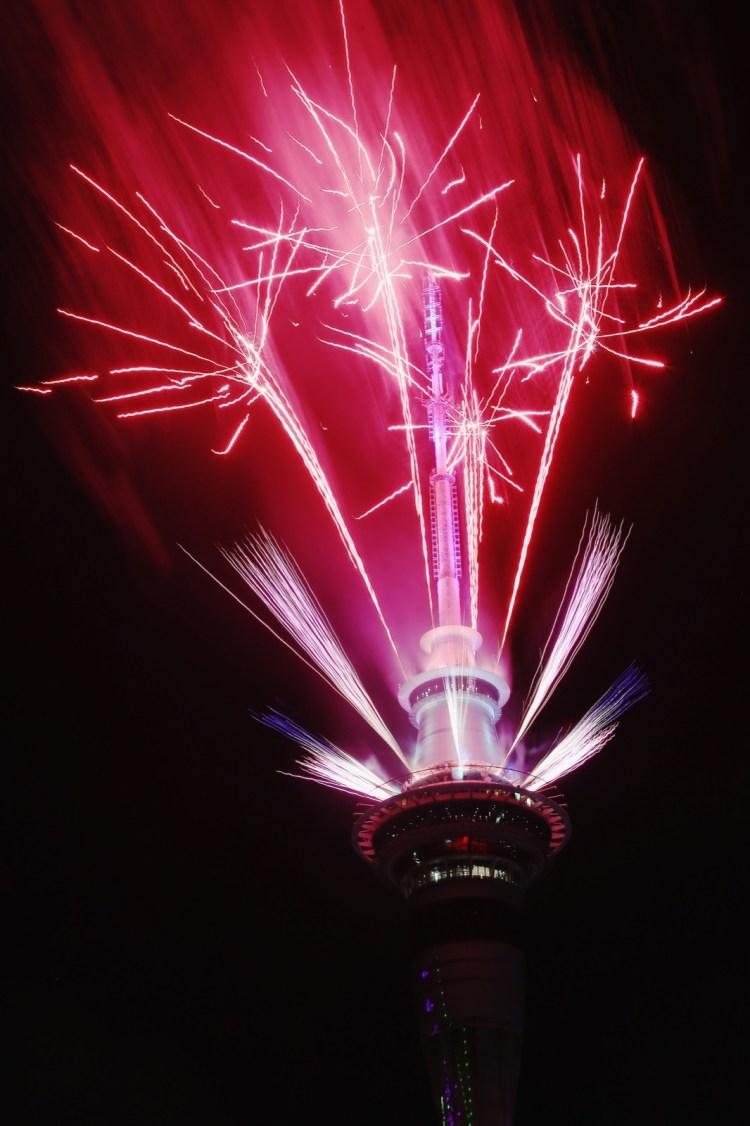 Ano novo Nova Zelândia