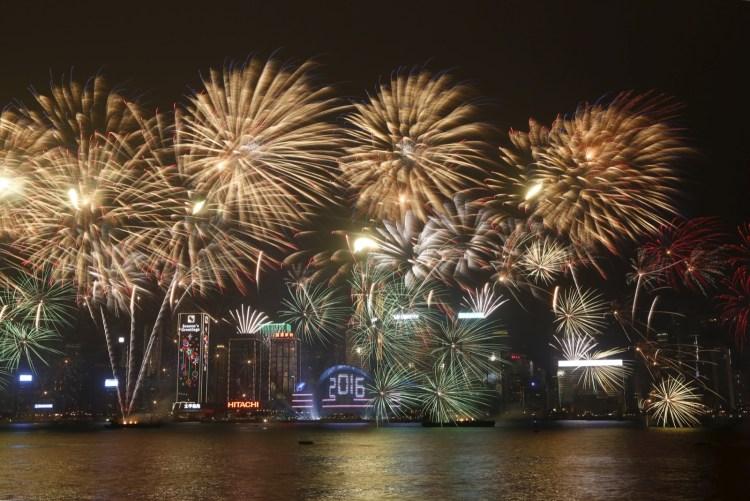 Fogos Hong Kong