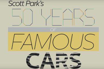 50 anos de Carros famosos no cinema