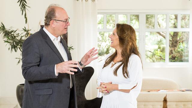 Gerson recebeu a equipe Soul e Antônia Maria Zogaeb em sua casa, em Campinas/SP