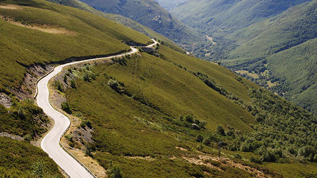 O caminho de Compostela é mundialmente famoso