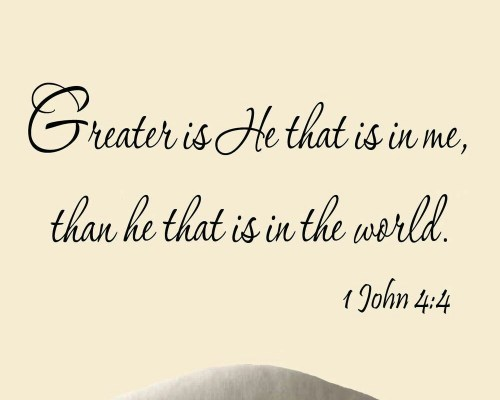 Greater Is He That Is In Me