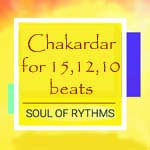 Chakardar for 15,12,10 Beats