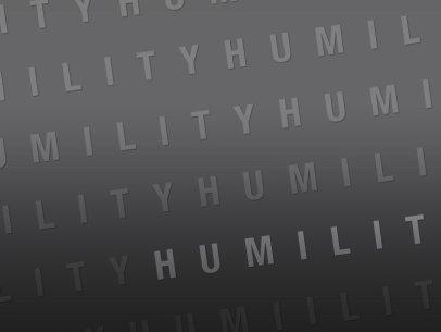 My Prayer of Humility