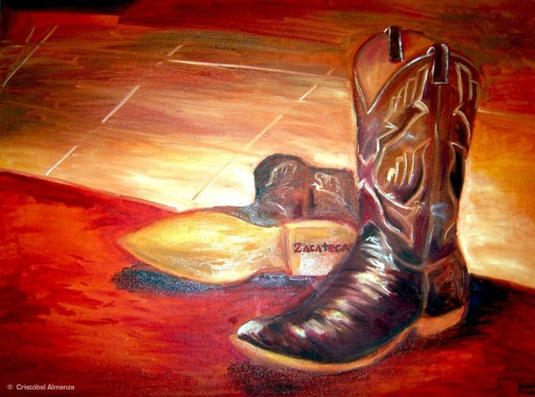 Boots Painting