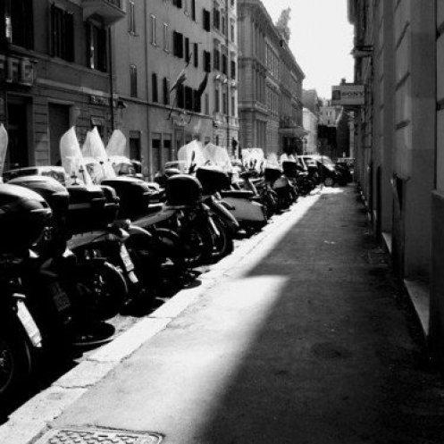 Modern Roman Street