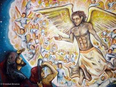 Praise of the Heavenly Host [Painting]