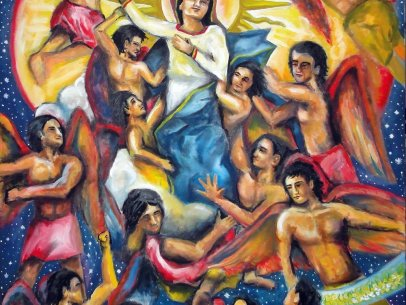 Angels and the Glorious Assumption