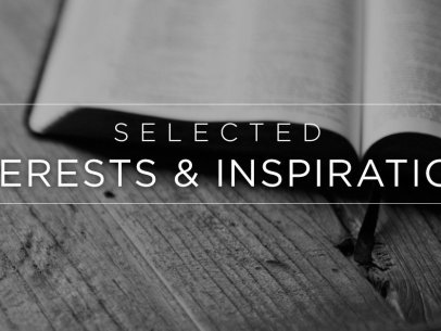 Selected Interests & Inspirations – March 2015