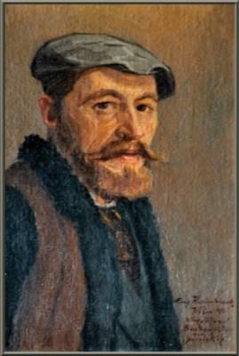 Self-portrait of Eugeniusz Kazimirowski