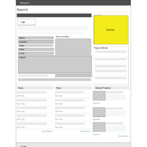 ReportIt-Wireframe