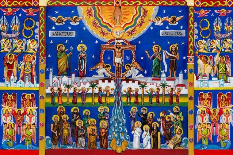 Sanctus Mural