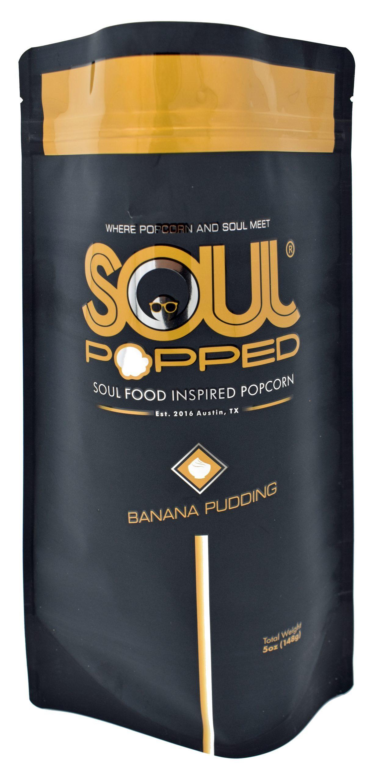 Soul Popped Banana Pudding Popcorn