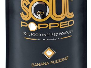 Soul Popped Banana Pudding Popcorn