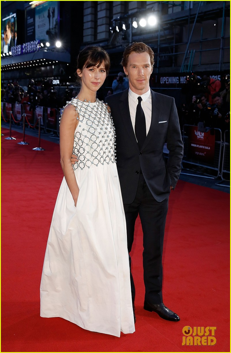 "LONDON, ENGLAND - OCTOBER 11:  Benedict Cumberbatch and Sophie Hunter attend the ""Black Mass"" Virgin Atlantic Gala screening during the BFI London Film Festival, at Odeon Leicester Square on October 11, 2015 in London, England.  (Photo by John Phillips/Getty Images for BFI)"