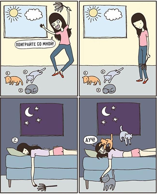 комиксы-про-отношения-кошек-и-людей-12