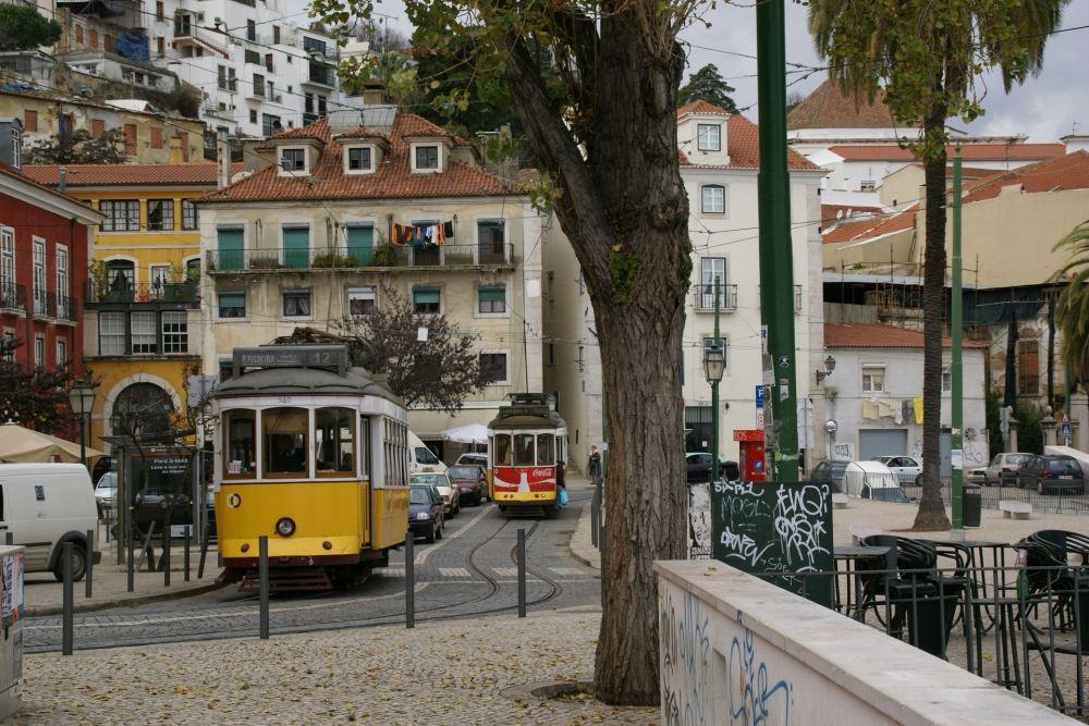 Platz an der Rua do Limoerio - Lisboa, Portugal, 9.1.2008