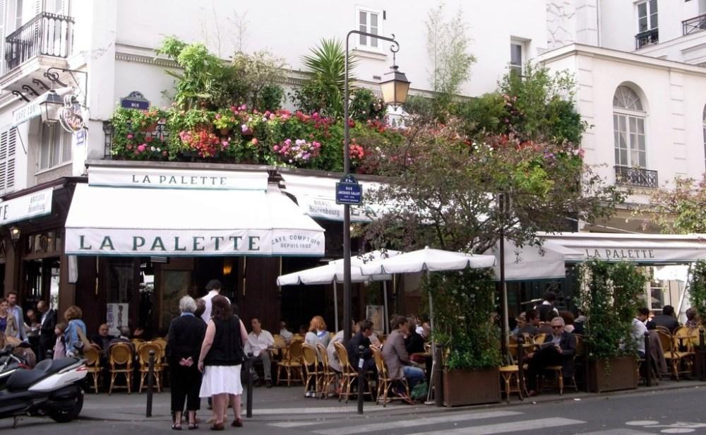 Café La Palette - Rue de Seine