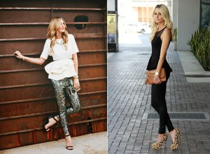 peplum-and-skinny-trouser-style