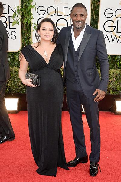 Идрис с женой