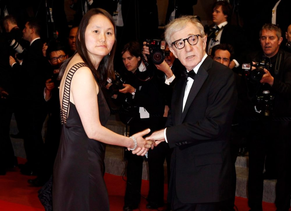 with Sun-and Previn - the stepdaughter who became his wife