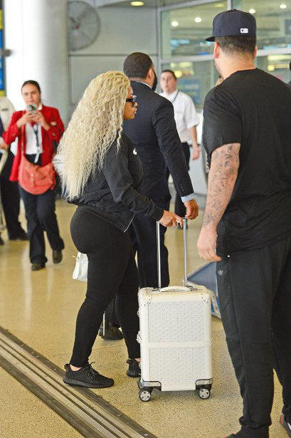 Rob Kardashian and Blac Chyna jet out of Miami together