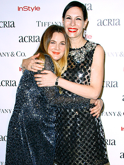 NEW YORK, NY - DECEMBER 10:  Drew Barrymore and Jill Kargman attend the ACRIA's 20th Anniversary Holiday Dinner at The Cunard Building on December 10, 2015 in New York City.  (Photo by Donna Ward/Getty Images)