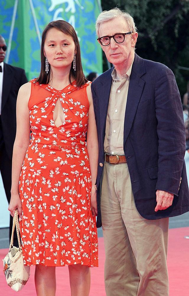 Вуди Аллен и Сун-И Превин. Разница в возрасте — 35 лет