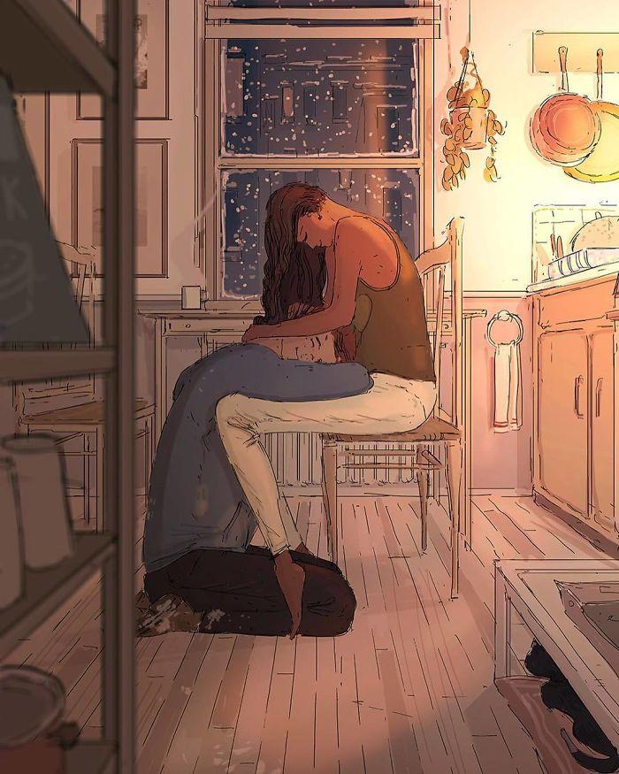 Этот художник доказывает, что любовь в мелочах .