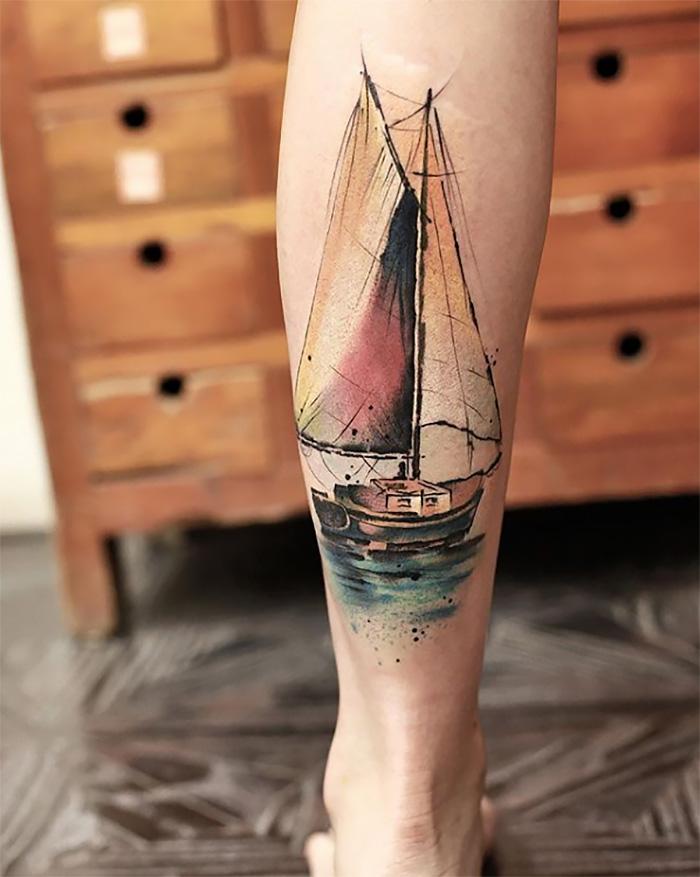 Эта тату-мастер делает татуировки, похожие на прекрасные картины