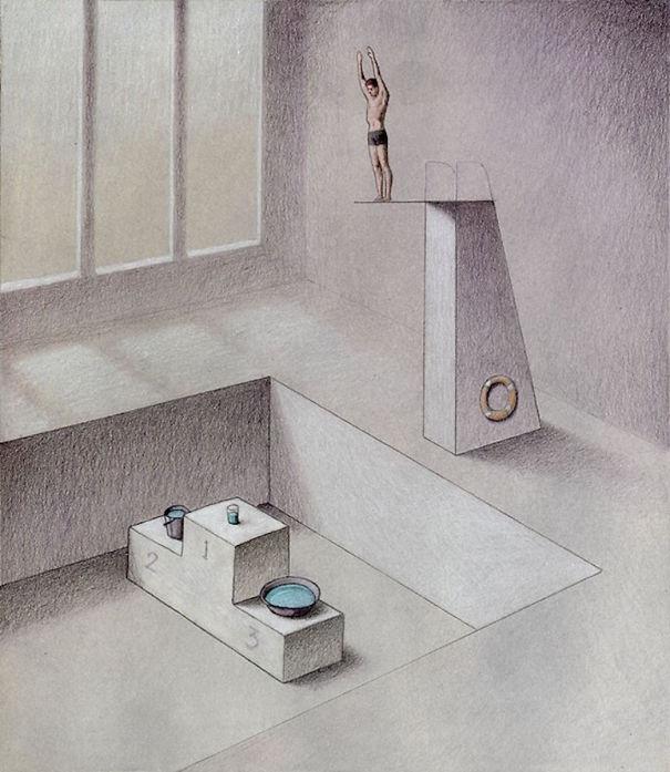 Брутально честные иллюстрации Павла Кучинского о том, что не так с нашим обществом