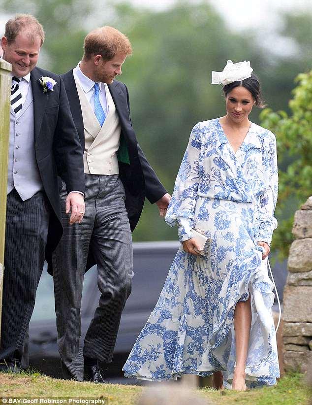 Принц Гарри и Меган Маркл затмили всех на свадьбе племянницы принцессы Дианы — фото