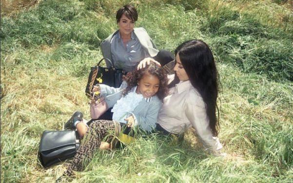 5-летняя дочь Ким Кардашьян дебютировала как модель в рекламе — видео