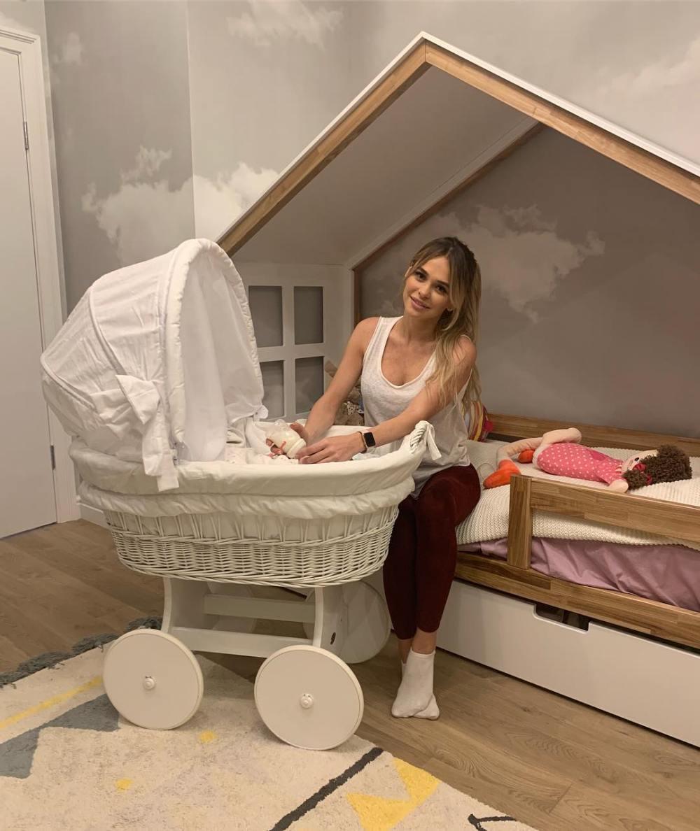 Анна Хилькевич вернулась в добеременную форму через 2 месяца после родов